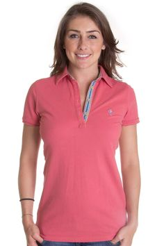 Polo para mujer B-Frog (Coral) Equestrian, Tennis, Athletic, Nice, Jackets, Outfits, Fashion, Polo Neck, Templates
