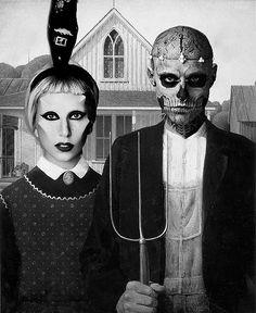 Gaga + Rick Genest