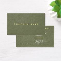 Plain Modern Professional Luxury Premium Thick Business Card - real estate gifts business cyo diy customize