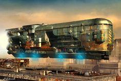 Dystopian Dieselpunk Art