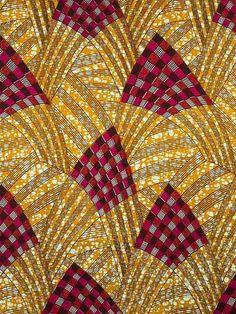 African Dutch Wax Fabric | African Fabric Dutch Real Wax Block Print by Africanpremier, $34.99
