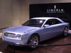 There are countless cases of automakers designing and building concept cars simply just to show what its de. Lincoln Continental Concept, American Dream Cars, Hummer Cars, Old School Muscle Cars, Building Concept, Design Department, Top Cars, Fast Cars, Concept Cars