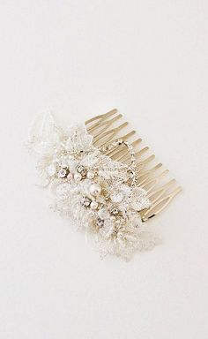PRESTON Lace Hair Comb Bridal Hair Comb Lace