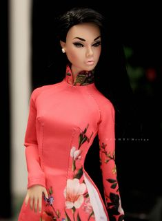 https://flic.kr/p/J8SrEi | Poppy Parker Doll | Miss AoDai Viet Nam Photo by MinhTu