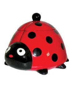 Another great find on #zulily! Ladybug Cookie Jar #zulilyfinds