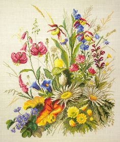 New Cross Stitch Hand Embroidery Kit by RTO Wolf Leader