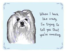 Art We Heart: Tiny Pupster Confessions SWEET