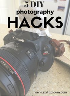 Photography Hacks | Photography Tips , 5 DIY Photography Hacks you MUST try