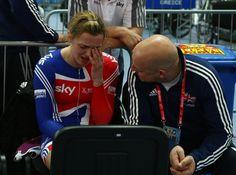 Victoria Pendleton Dave Brailsford Photo - UCI Track World Championships - Day Four