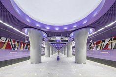 Warsaw Poland M2 Line Architecture