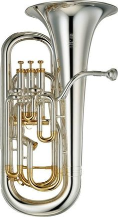 Yamaha YEP-842S Custom Series Bb / F Compensating Euphonium | Silver Finish