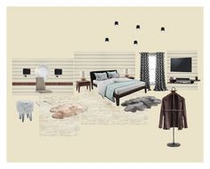 """спальня 1"" by margarita-shoshina on Polyvore featuring interior, interiors, interior design, дом, home decor, interior decorating, Lush Décor и UGG Australia"