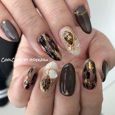 ネイルデザインを探すならネイル数No.1のネイルブック Gorgeous Nails, Love Nails, Pretty Nails, Korean Nail Art, Korean Nails, Nail Manicure, Gel Nails, Henna Nails, Asian Nails