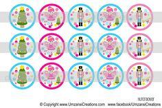 "15 Nutcracker Digital Download for 1"" Bottle Caps (4x6)"