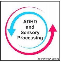 ADHD and Sensory Processing - pinned by /pediastaff/ – Please Visit  ht.ly/63sNt for all our pediatric therapy pins