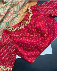 Hand Work Blouse Design, Simple Blouse Designs, Stylish Blouse Design, Stylish Dress Designs, Pattu Saree Blouse Designs, Blouse Designs Silk, Designer Blouse Patterns, Sarees, Wedding