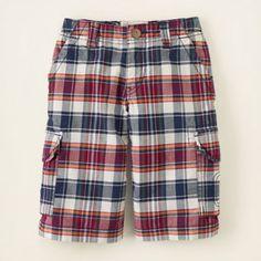 plaid jammer shorts