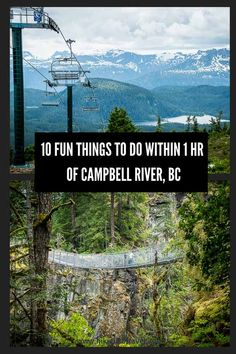 10 fun things to do within one hour of Campbell River, BC Vancouver Travel, Vancouver Island, Vacation Places, Places To Travel, Vacation Destinations, Visit Canada, Canada Eh, Canadian Travel, Thing 1