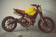 Ducati Scrambler Street Tracker - The Garage KL - Beautiful Machines #motorcycles #streettracker #motos | caferacerpasion.com