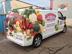 by teignsigns Car Food, Food Truck, Vehicle Signage, Vehicle Branding, Car Delivery, Car Prints, Fiat Ducato, Van Wrap, Car Signs