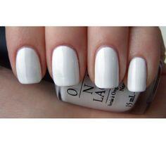 "OPI ""Alpine Snow"" gel polish.  Beautiful, crisp white. Love!"