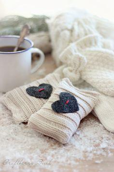 Seasons of Home, Winter Edition - Super quick hand warmers - Craftberry Bush