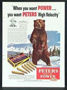 Ammo And Gun Collector Vintage Advertising