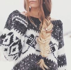 Cozy winter sweater