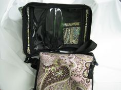 Meter cases that are great for all your diabetes supplies, whats nice about these is that you can see what is in each compartment!  http://www.pumpwearinc.com/pumpshop/index.php?l=product_list&c=26