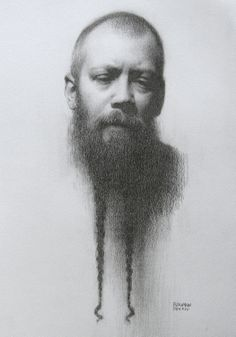 Stephen Bauman (pencil on paper)