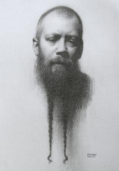 Stephen Bauman (pencil on paper)