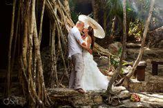 Riviera Maya Photography Cenote Trash the Dress – Lindsay and Pete