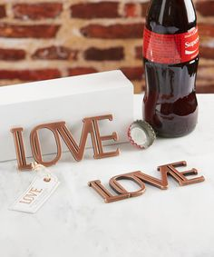 Another great find on #zulily! Copper Love Bottle Opener - Set of 12 #zulilyfinds