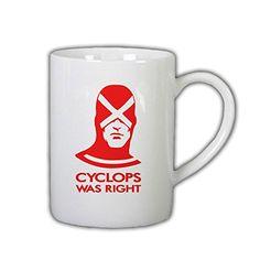 Cyclops Was Right X-men 11 Oz Ceramic Cup Mug RTR MG http://www.amazon.com/dp/B00XJ4J9R4/ref=cm_sw_r_pi_dp_Rjzuvb02GVR7T