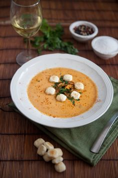 Vegan Lobster Bisque