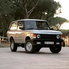 Range Rover Classic, Range Rover Svr, Garage Workshop Plans, Jeep Sport, Vintage Classics, Land Rovers, Iron Fist, Future Car, Land Rover Defender