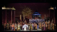 Turandot, performed by the Lyric Opera of Kansas City at the Muriel Kauffman Theatre, Kauffman Center for the Performing Arts, Kansas City Crossroads Arts District