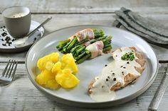 Philips Chef - Gegrilde varkenshaas met aardappel en sperziebonen