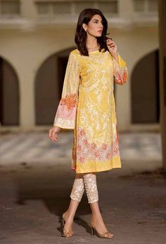 Sobia Nazir Unstitched Tunic Women Collection 2015 (9)