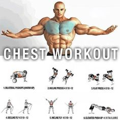 Total Chest Routine ! Healthy Fitness Body Training - Yeah We Train !