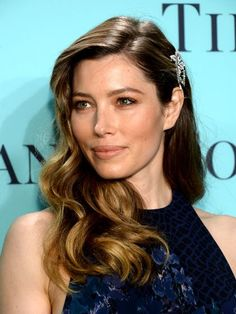 "Jessica Biel Creating glossy, glamorous Veronica Lake-style waves is a lot easier than you might think. First, use a one-and-a-quarter-inch curling iron (like the Hot Tools Professional Curling Iron) to curl small sections all the way around your head. ""The key is to hold the curling iron horizontally, which gives you a fatter wave,"" says Riawna Capri, a celebrity hairstylist and co-owner of the Nine Zero One salon in Los Angeles. After releasing each curl from the iron, clip it against your…"