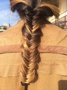 #fishtail #sombre #hair