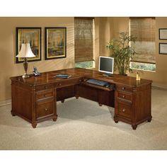 DMI Office Furniture Antigua Executive L-Shape Desk with Right Return - Walmart (Wayfair) $2,277.00