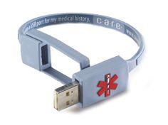 Care Usb Medical History Bracelet Gray Nurse Practioner Gadget Gifts