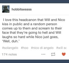 Yeah Will should wait a little bit to meet Nico's parents...<<<< Agreed