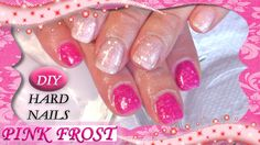 ❅DIY HARD NAILS Gel Polish- PINK FROST❅  #GelNails #GelNailArt #HowtoGelNails #GelNailsStepbyStep #PinkNails #NOTD #GelNailsStepbyStepTutorial #EasyGelNails #ColorChangingGelPolish #HowtoGelPolish #GelPolish #ColorChangingGels #ColorChangingGelPolishes #GlitterGelNails #GlitterGelNailArt #DIYHardNails #DIYHardNailsGelPolishes #DIYHardNailsPinkFrost #GelNailsPinkFrost #ColorOutbreak