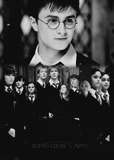 """""""Every great wizard in history has started out as nothing more than what we are now - students. If they can do it, why not us?"""" - Harry"""
