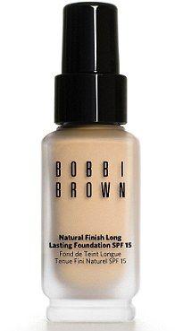 Bobbi Brown foundation, natural finish long lasting in 4.5 Warm Honey! #loveit