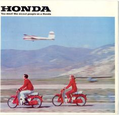 https://flic.kr/p/3msa1S   Legendary copy!   This is the clever ad that launched Honda in America, then the world.. the non-threatening motorcycle!