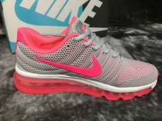 New And Cheap 2017 Nike Air Max Shoes 2017 kup womens shoes grey pink c28401690ed8